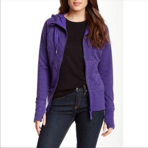 Zella Nordstrom Full Zip Purple Hoodie Size M